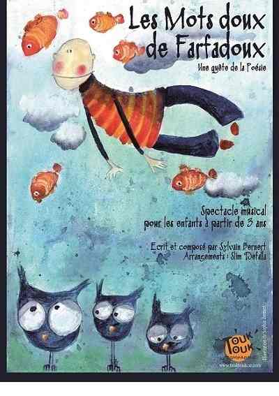 musical show for children in Paris from 4 years old