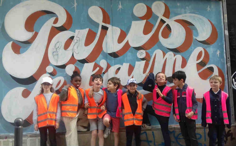 jeu de piste dans Paris sur le thème du Street Art