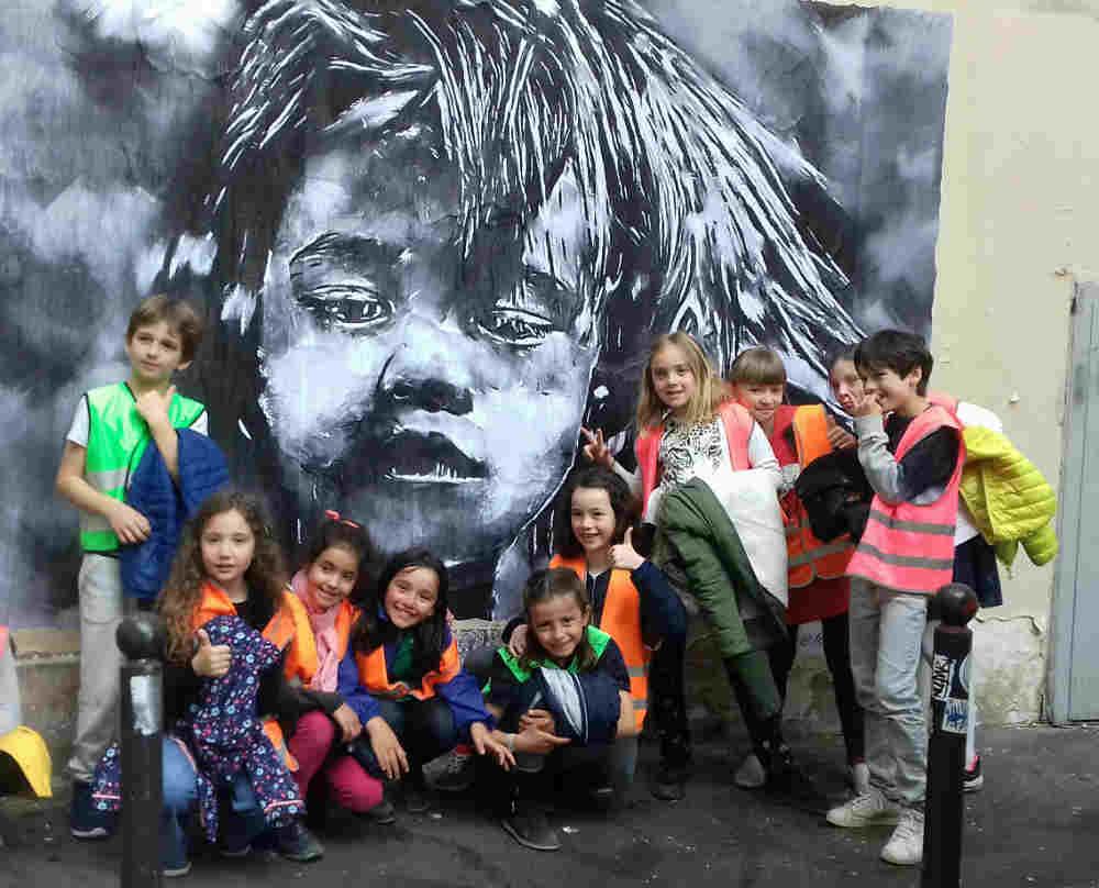 anniversaire enfant : jeu de piste sur le thème du street art