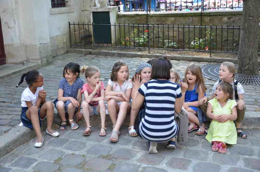 jeu d'énigme à Montmartre pour des enfants dès 7 ans