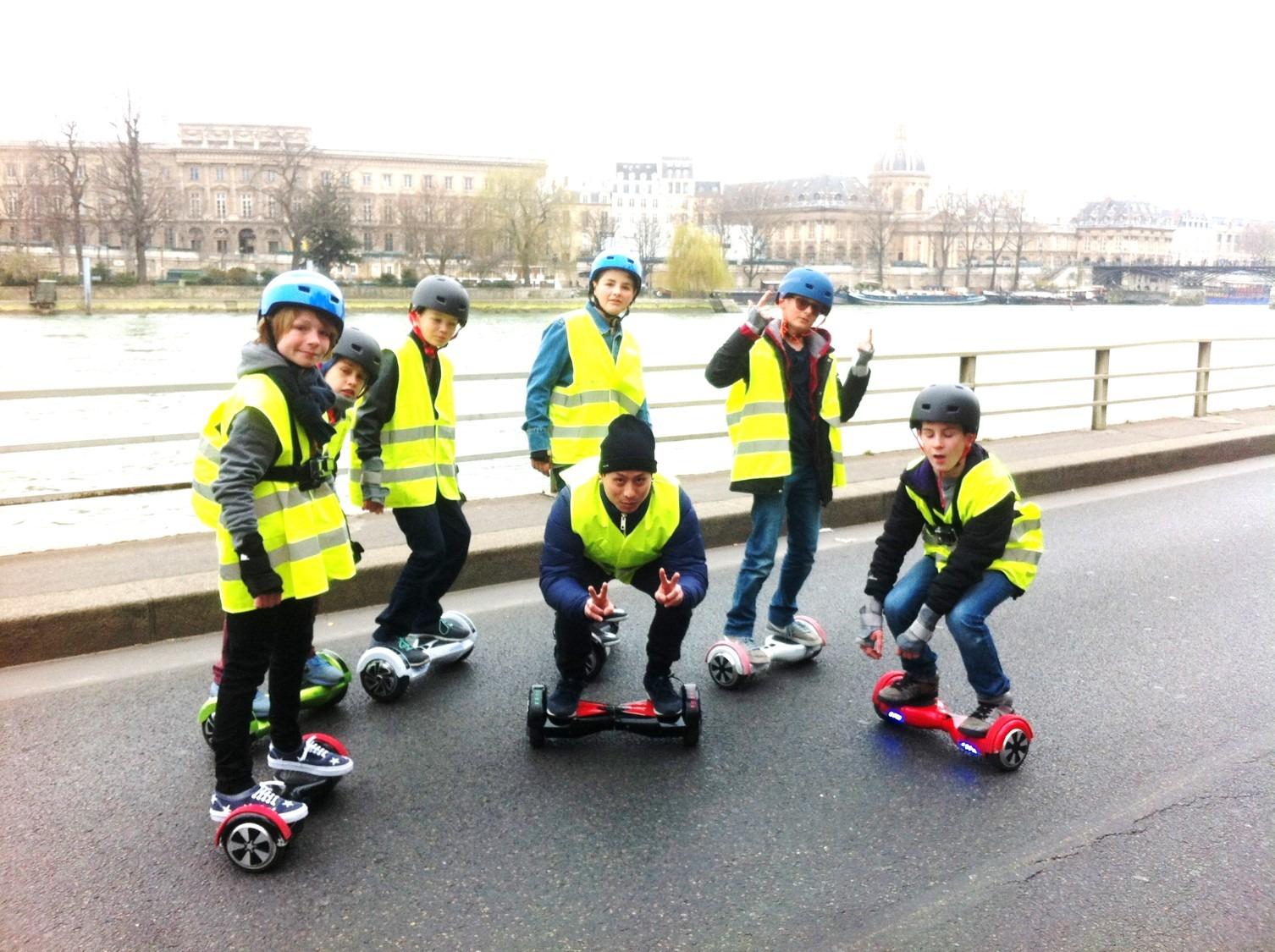 balade en hoverboard