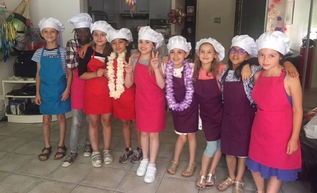 atelier de pâtisserie pour enfants