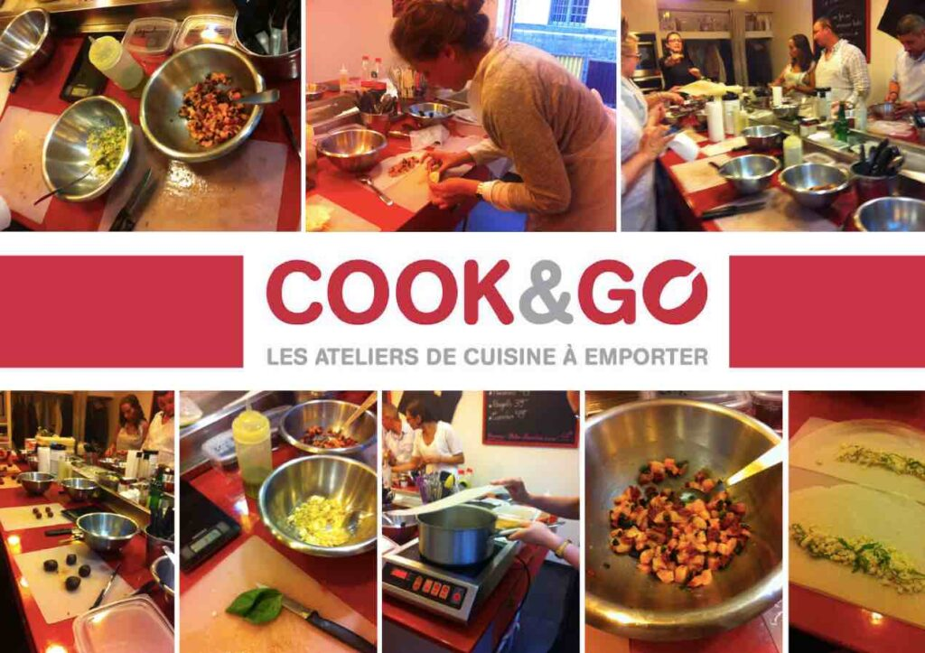 workshop for children at Cook ans Go