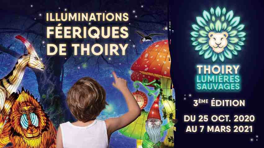 illuminations du Zoo de Thoiry