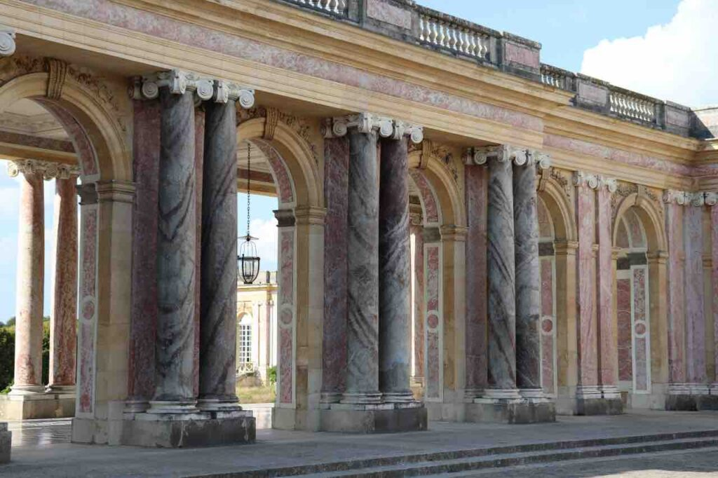 the great Trianon of Versailles