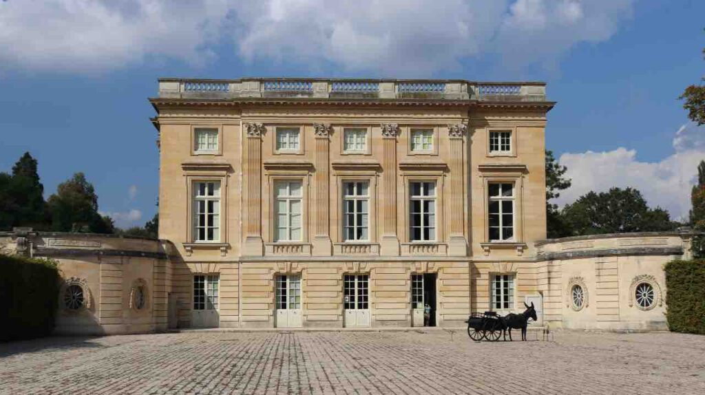 the Petit Trianon at the Palace of Versailles