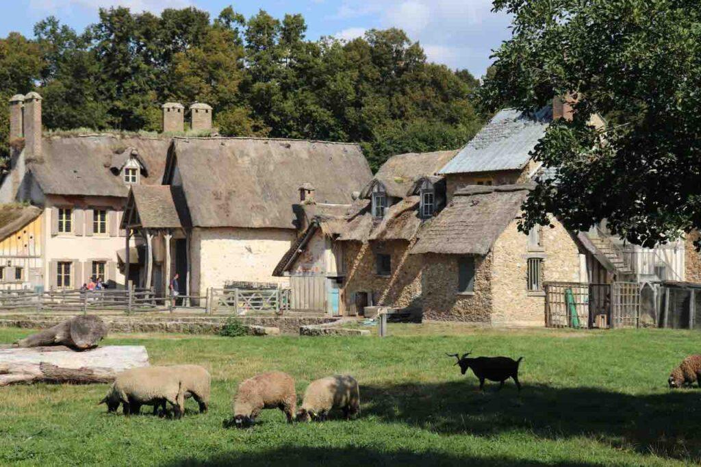 the farm of Marie-Antoinette's hamlet