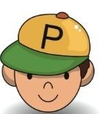 child with cap
