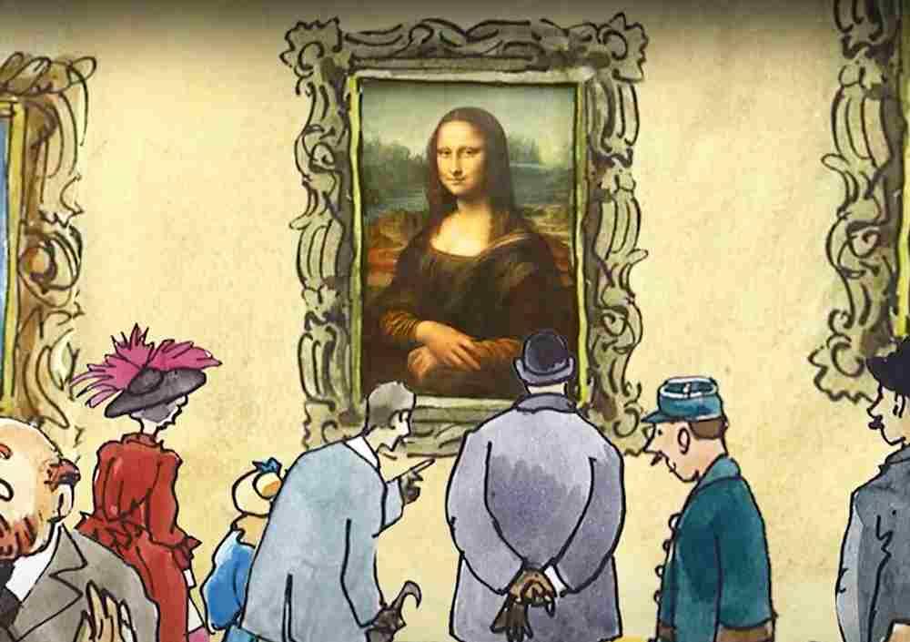 Les Belles histoires du Louvre pour les enfants