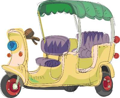 Paris en tuktuk, la sortie sympa avec des enfants