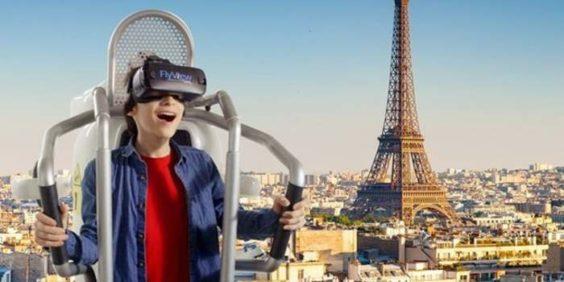 """Mon anniversaire chez Flyview : """"Survol au-dessus de Paris"""""""