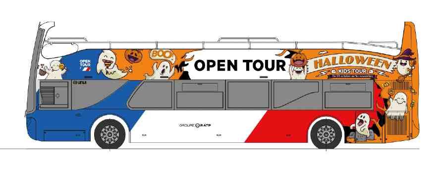 halloween 2020 avec le kids tour d'Opentour