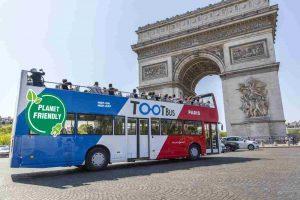 panoramic bus tour of Paris TOOTbus