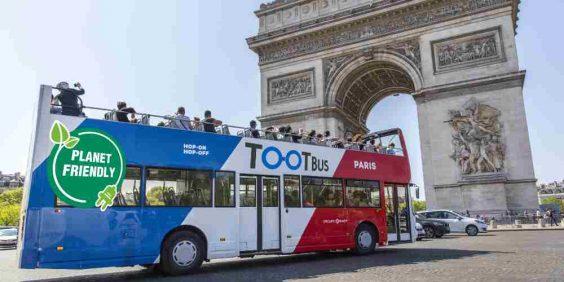 Paris en bus panoramique  (TOOTBUS)