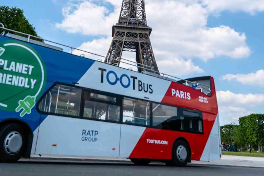 Tootbus, les bus panoramique pour visiter Paris