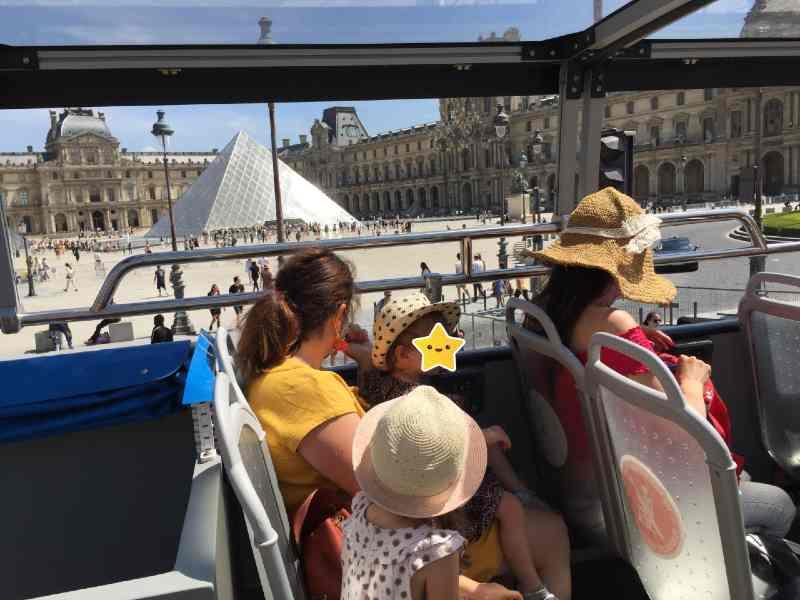 voir Paris en kids tour avec Opentour