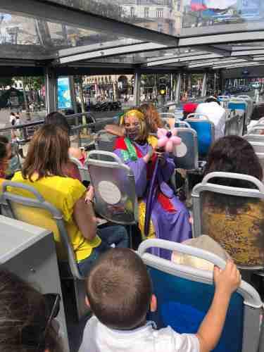 le kids tour pour les enfants à Paris