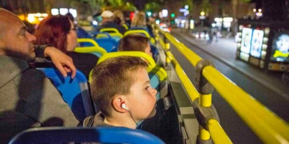 Paris la Nuit en bus panoramique – avec TOOTbus