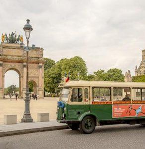 visite de Paris en bus avec le Vintage tour