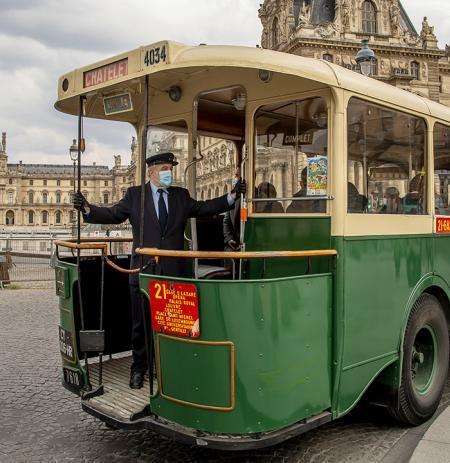 vintage tour de Paris