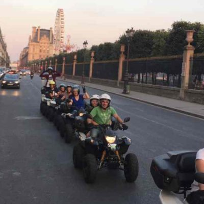 visite guidée de Paris en Quad