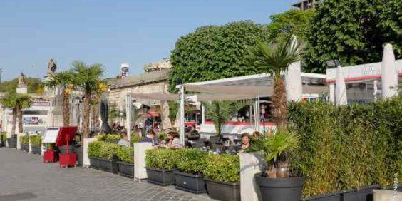 La formule Croisière + Pizza en terrasse avec les Vedettes de Paris