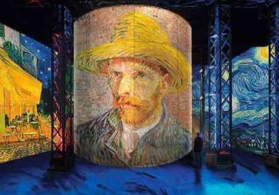 Van Gogh, the starry night
