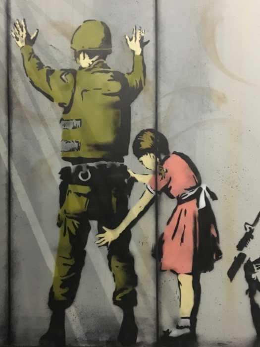 Banksy exhibition in Paris