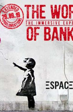 Exhibition in Paris of Banksy's street art