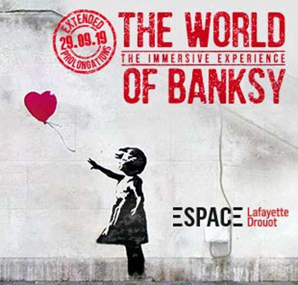 Exhibition in Paris of Banksy's street art