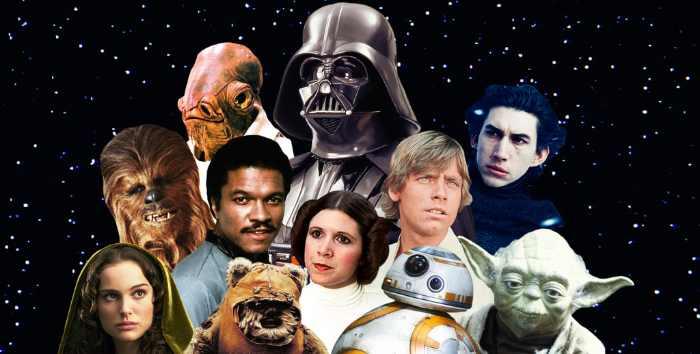 expo pour les fans de Star Wars à Paris