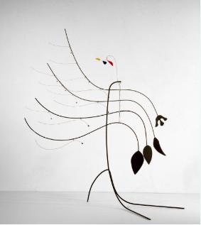 Calder mobile at the Calder Picasso exhibition