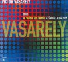 Affiche de l'expo Vasarely au Centre Pompidou