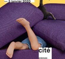 Affiche de l'exposition Cabanes à la Villette