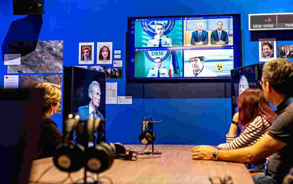 espion : l'expo de la cité des Sciences et de l'Industrie