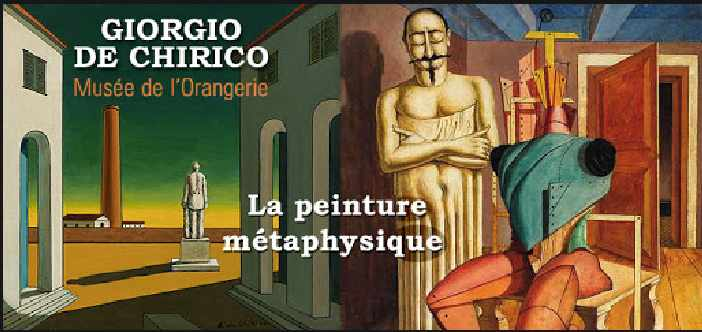 expo Chirico à l'Orangerie