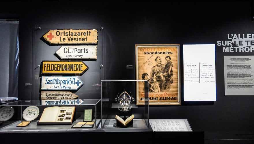 expo 1940 au musée de l'Armée à Paris