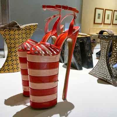 expo sur l'histoire de la chaussure à travers les siècles