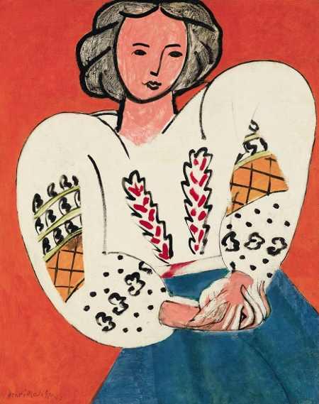exposition Matisse au centre Pompidou