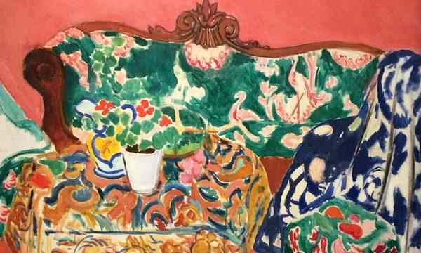 l'expo Matisse a Pompidou