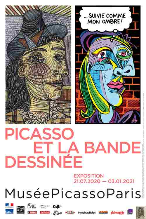 Picasso and the comic strip