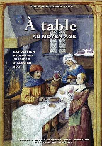 expo A Table au musée jean sans peur