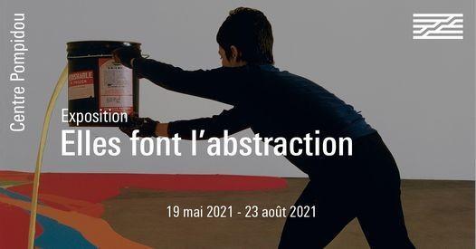 Elles font l'abstraction, la nouvelle exposition du Centre Pompidou
