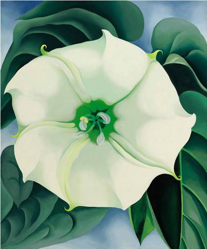 Georgia O'Keeffe the exhibition of the fall at the Centre Pompidou