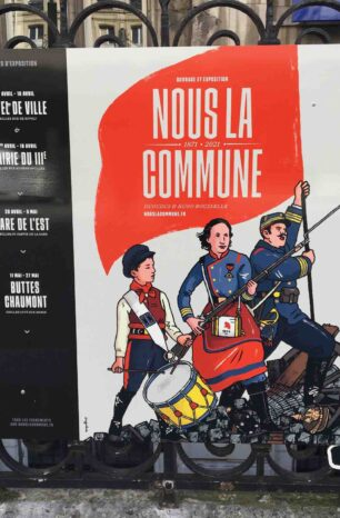 exhibition we the commune at the town hall