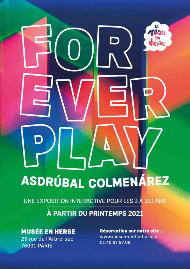 l'expo For Ever Play au musée en Herbe