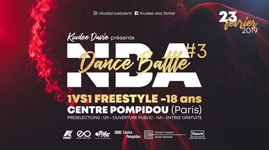 Concours de danse pour les moins de 18 ans à Paris