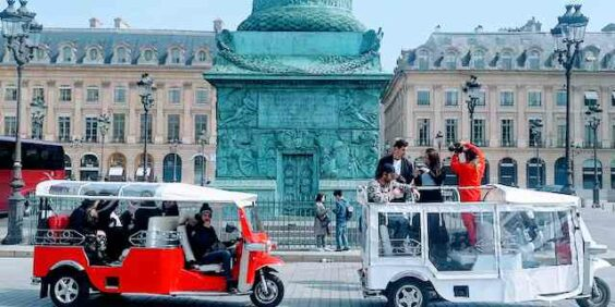 Balade en Tuk-tuk à Paris