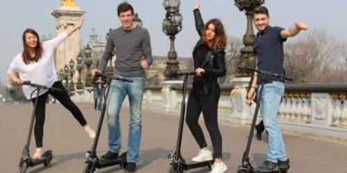 Balade en trotinette électrique à Paris, la sortie sympa avec des ados