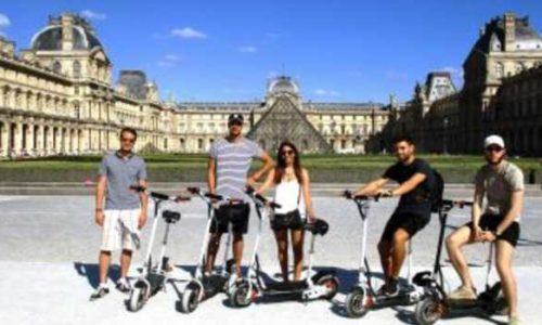 location de trottinettes électriques dans Paris